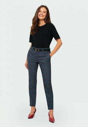 SPODNIE - Spodnie materiałowe - GREY