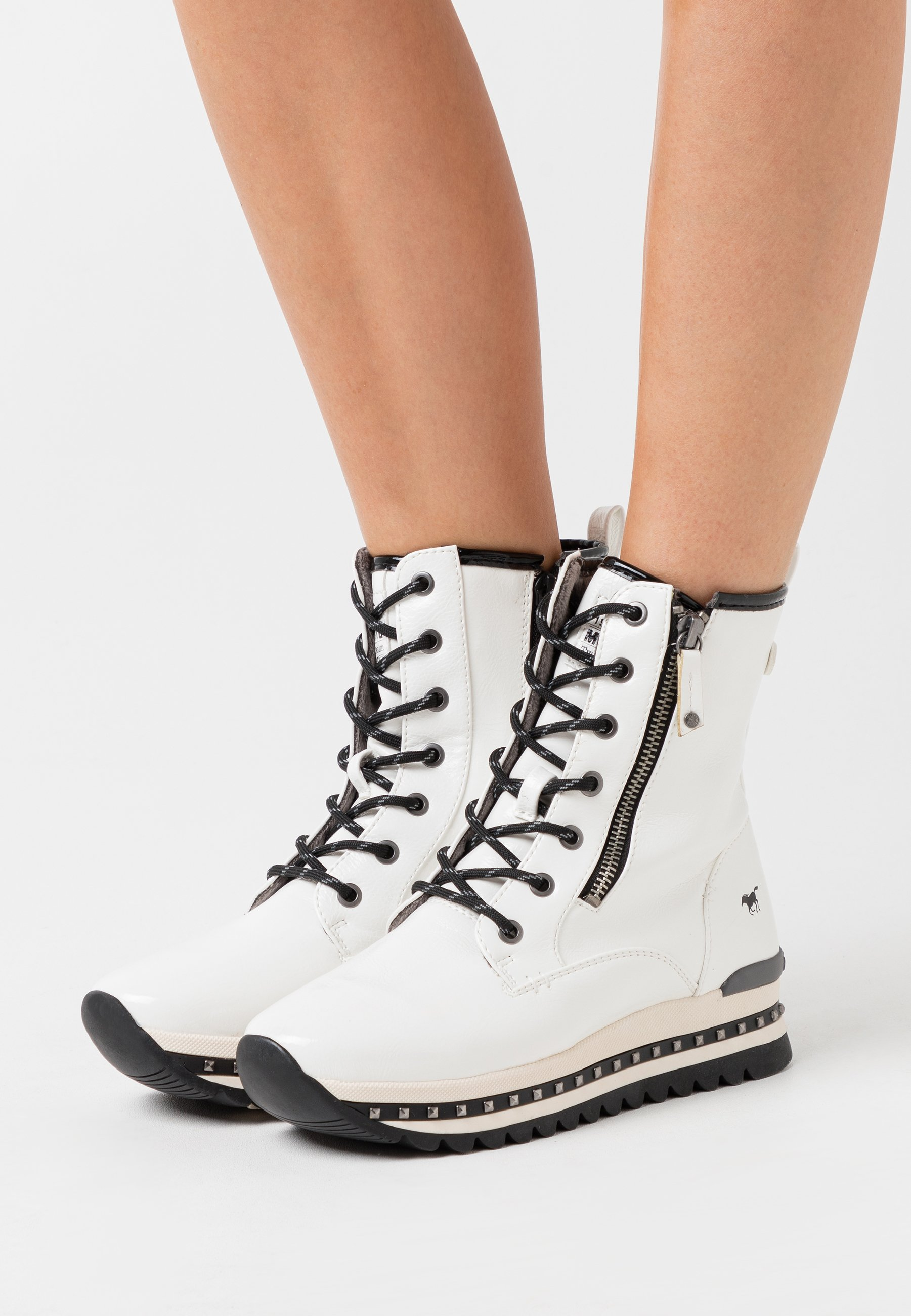 Explore Latest Women's Shoes Mustang Platform ankle boots weiß tuL0CRXFN 4zLjEGfEP
