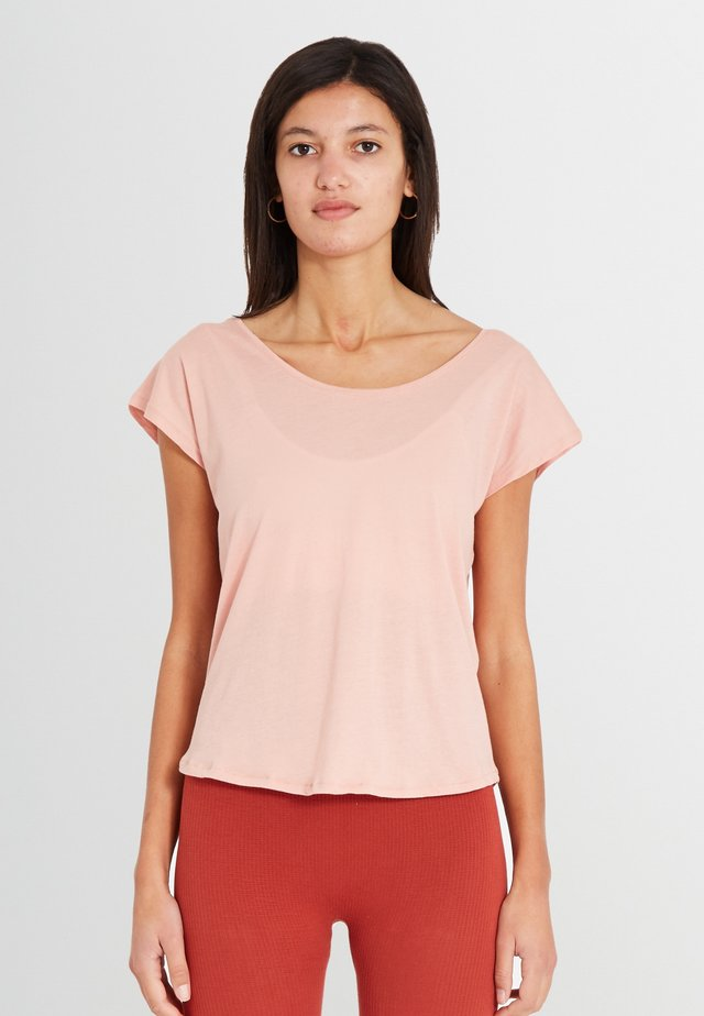 UTTANA - T-shirt basic - blush