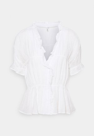 NEXT TO YOU FRILL - Blouse - white