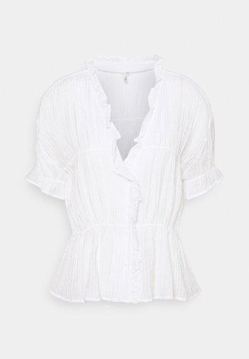 NEXT TO YOU FRILL - Blouse - white
