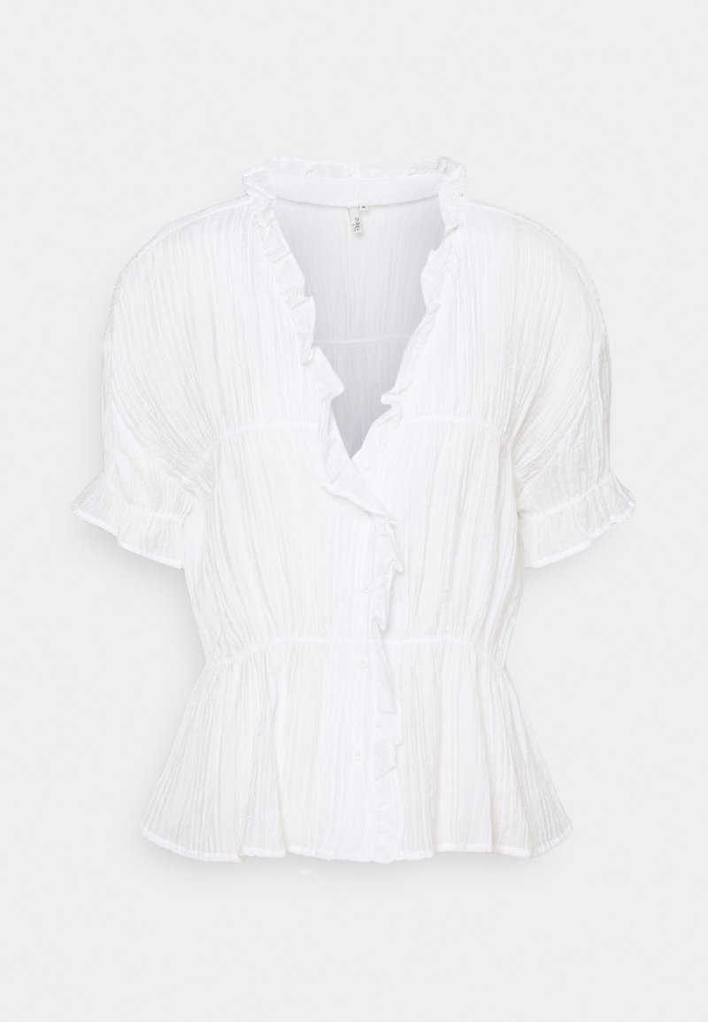 Nly by Nelly - NEXT TO YOU FRILL - Blouse - white