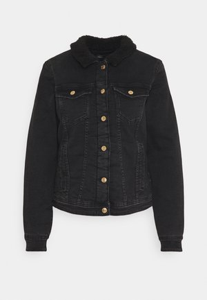 ONLTIA JACKET  - Denim jacket - black denim
