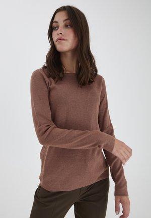 SARA - Sweatshirt - brownie melange