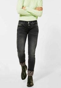 Street One - Slim fit jeans - schwarz - 0