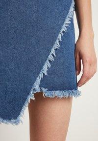 Tezenis - Wrap skirt - blu jeans - 3