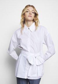 HUGO - EILISH - Button-down blouse - white - 3