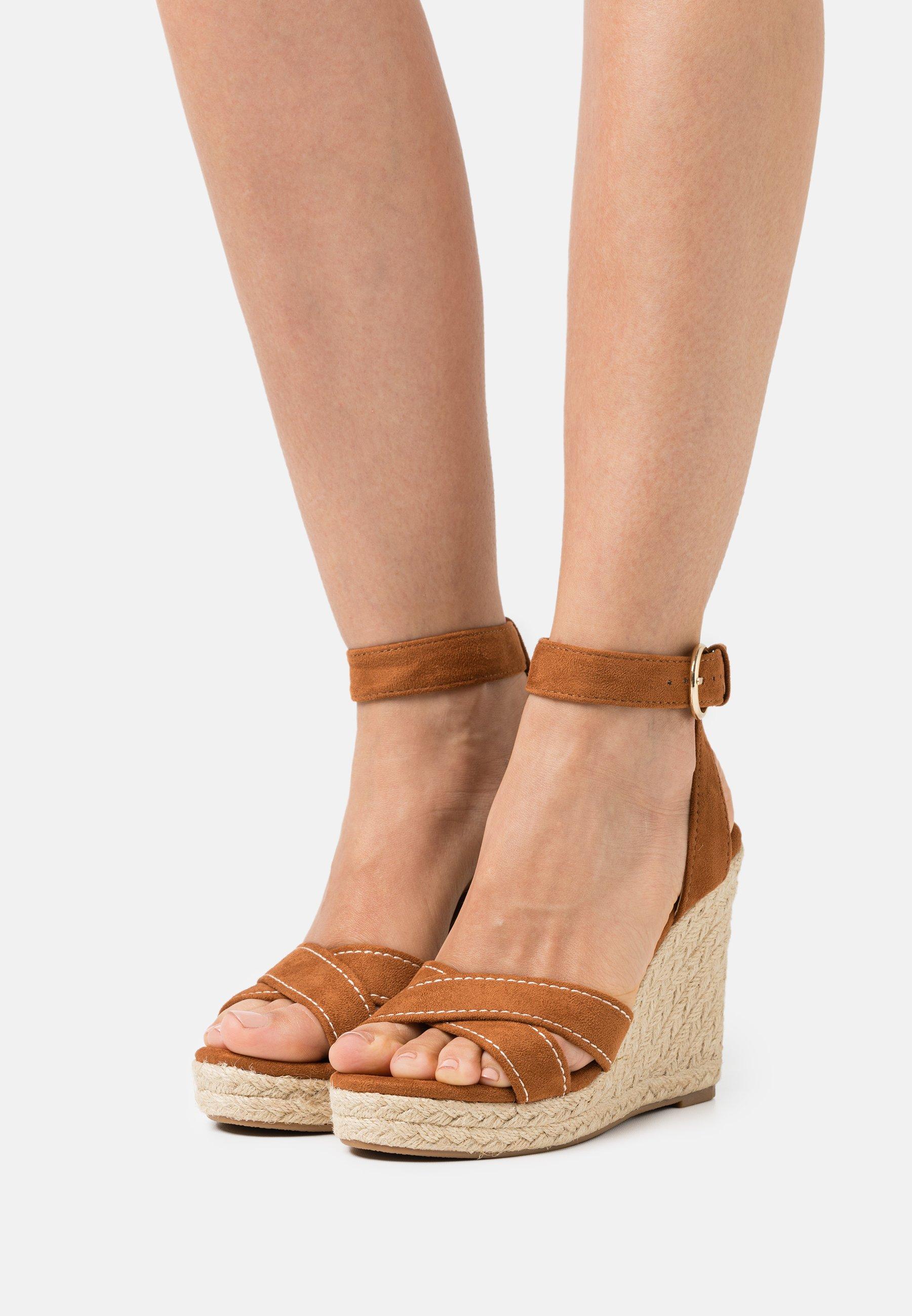Women ONLAMELIA LIFE STITCH  - Platform sandals