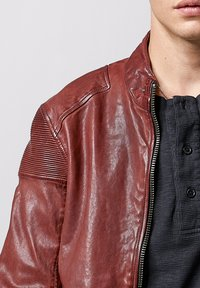 Tigha - FRANKLYN - Leather jacket - dark red - 3