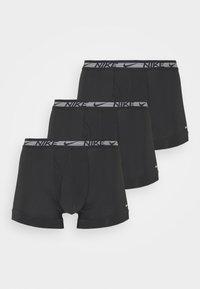 Nike Underwear - TRUNK 3PK FLEX MICRO - Bokserit - black - 0