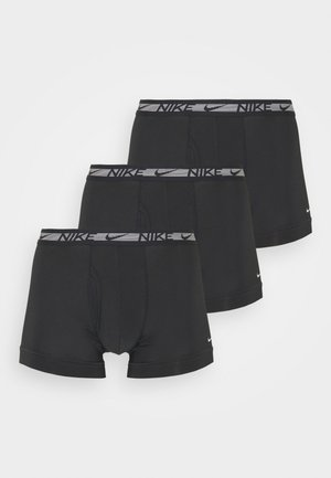 TRUNK 3 PACK - Panties - black