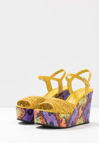 Pons Quintana - High heeled sandals - yellow - 4