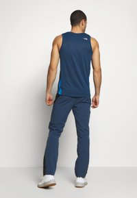 The North Face - MEN'S DIABLO II PANT - Outdoorové kalhoty - blue wing teal/black - 2