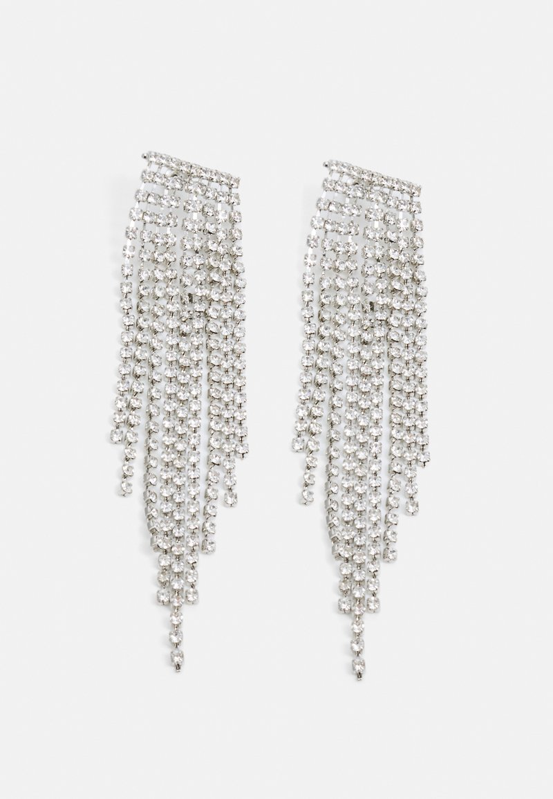 LIARS & LOVERS - WIN CUPCHAIN CASCADE - Earrings - silver-coloured