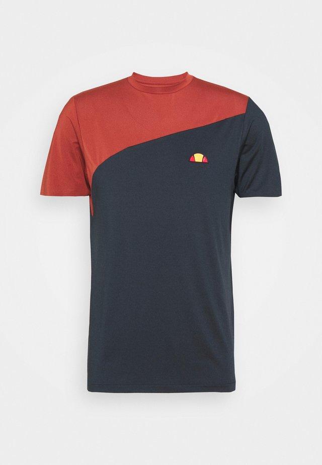 CARRITO TEE - T-Shirt print - navy