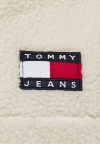Tommy Jeans - SHERPA ZIP THRU HOODIE - Fleece jacket - ecru - 3