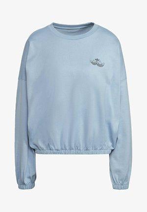 TRIPLE TREFOIL SWEATSHIRT - Sweatshirt - blue
