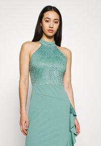 WAL G. - ZEKE FRILL MAXI DRESS - Sukienka z dżerseju - sage green - 3
