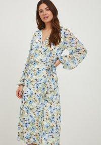 ICHI - IXADILENE - Korte jurk - cashmere blue multi color - 0