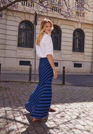 WRAP - Wrap skirt - blue