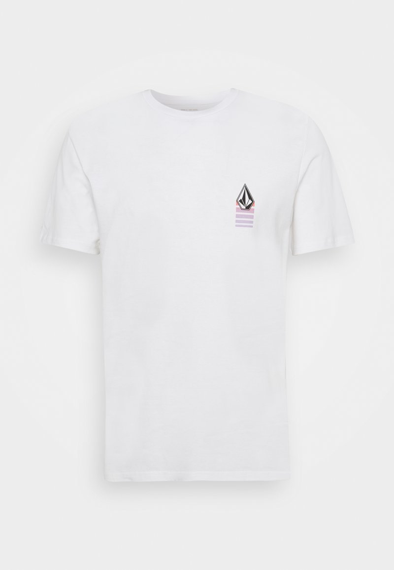 Volcom - BLOXER - Print T-shirt - white