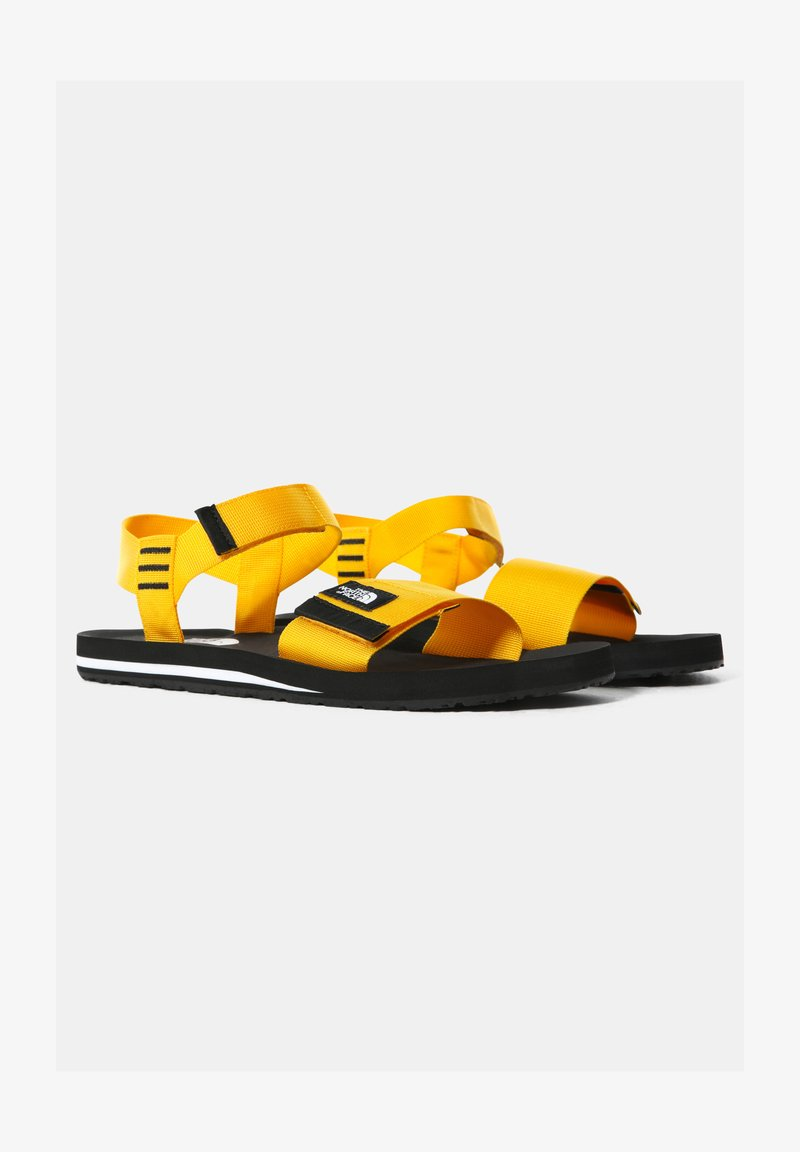 The North Face - M SKEENA SANDAL - Walking sandals - summit gold tnf black