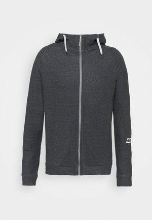 MORLEY - Zip-up sweatshirt - lead grey