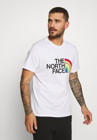 The North Face - RAINBOW TEE - T-shirt imprimé - white - 0