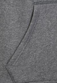 adidas Performance - CORE ELEVEN FOOTBALL HODDIE SWEAT - Felpa con cappuccio - grey/black - 2