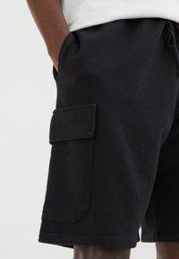 PULL&BEAR - Shorts - black - 4
