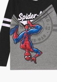 Desigual - MARVEL SPIDER MAN - Bluzka z długim rękawem - black - 2