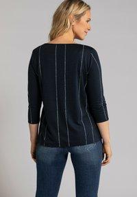 GINA LAURA - Long sleeved top - navyblau - 1