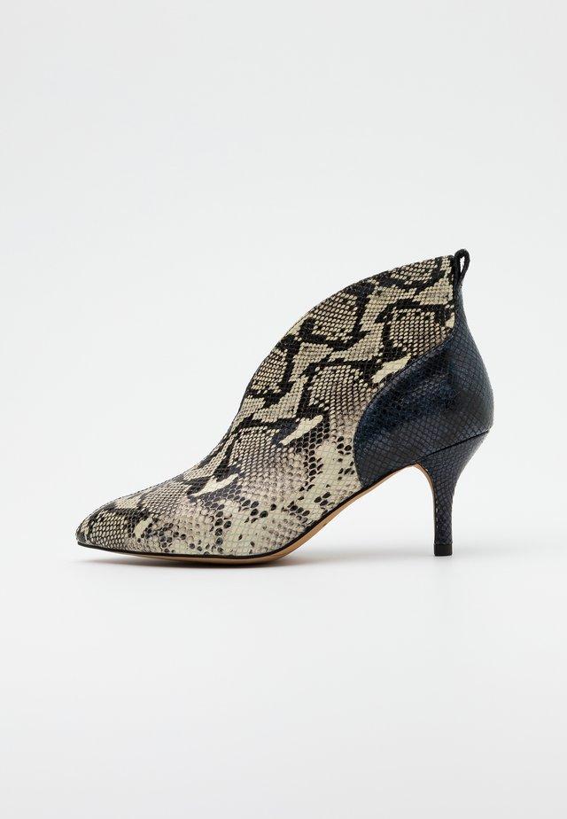 VALENTINE SNAKE - Boots à talons - multicolor