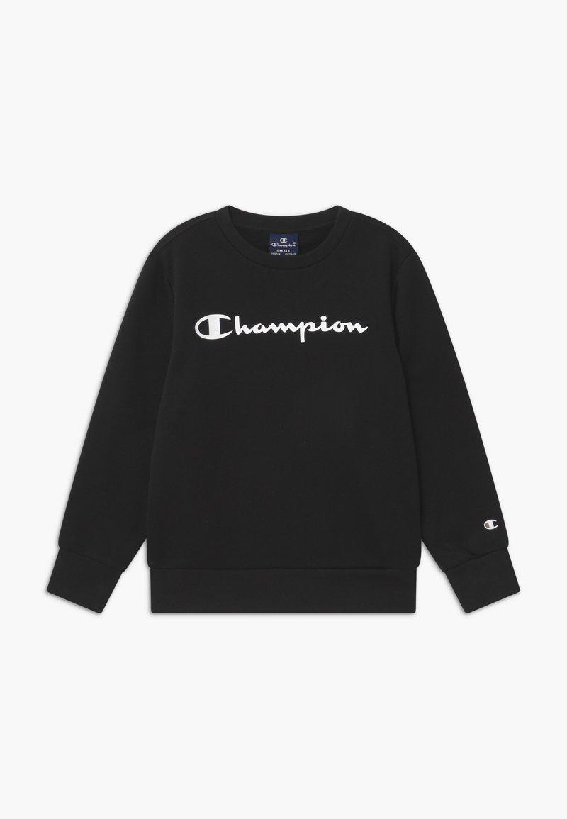 Champion - AMERICAN CLASSICS CREWNECK UNISEX - Sweatshirts - black