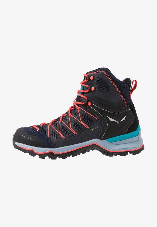 MTN TRAINER LITE MID GTX - Hiking shoes - premium navy/blue fog