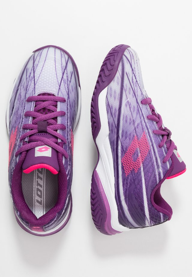 MIRAGE 300 UNISEX - Multicourt tennis shoes - charisma violet/funky pink/purple willow