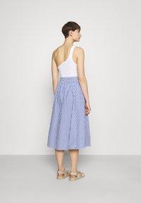 Monki - A-line skirt - blue/bright - 2