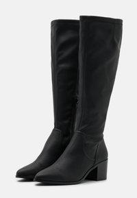 Bianco - BIAABBIE LONG BOOT - Vysoká obuv - black - 2