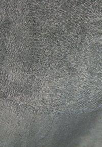 Massimo Dutti - MIT LAMÉFÄDEN - Scarf - dark grey - 4