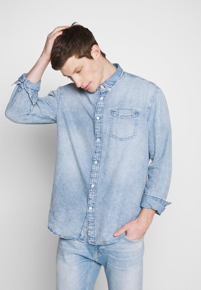 MOONWASH - Shirt - blue bleached