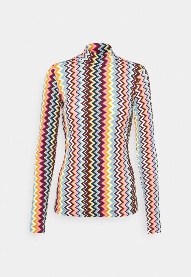 Bluzka z długim rękawem - multicolor
