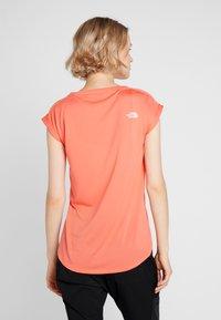 The North Face - TANKEN TANK  - Basic T-shirt - radiant orange - 2