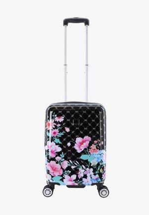 FLOWER - Wheeled suitcase - schwarz