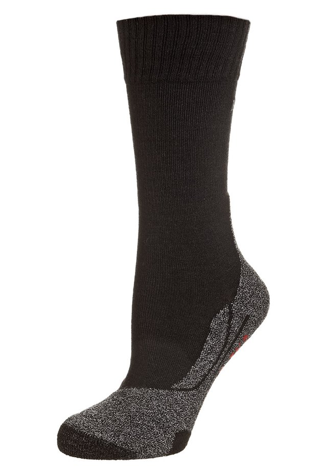 TK5 ULTRA LIGHT - Sports socks - black/ grey