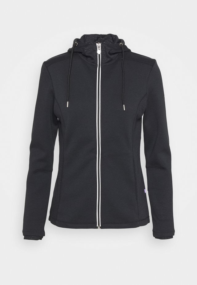 JARLA - Zip-up hoodie - black