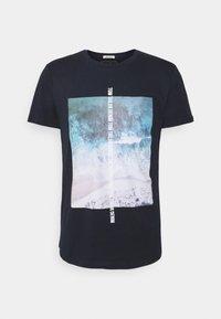TOM TAILOR DENIM - Print T-shirt - sky captain blue - 3