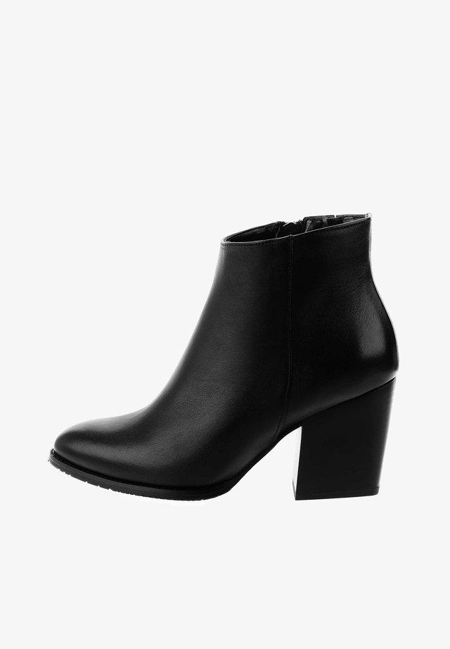 CANALDI - Højhælede støvletter - czarny