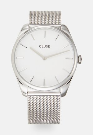 FEROCE - Reloj - silver-coloured/white