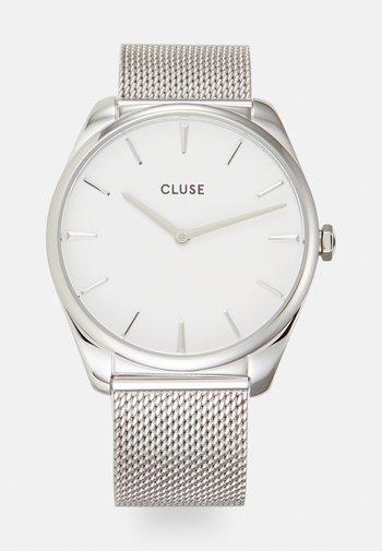FEROCE - Klocka - silver-coloured/white