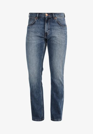 GREENSBORO - Straight leg jeans - blue denim